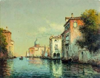 Antoine Bouvard Jr (French,1913-1972) oil painting