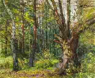 Jan Spacil Zeranovsky (Czech,1892-1982) oil painting