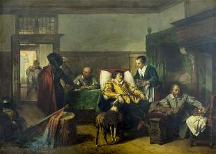 Herman Fred Carel Ten Kate (Dutch,1822-1891) oil