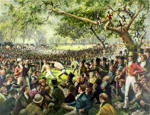 Arthur Sheppard (CA,1875-1954) oil painting