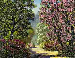 Leonard Rodowicz (Poland,WI,IL,1898-1981) oil painting