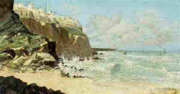 Rafael Latorre Viedma (Spain,1872-1960) oil painting