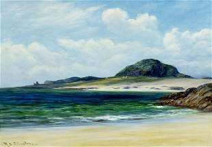 Robert Brown Johnston (UK,1840-1914) oil painting