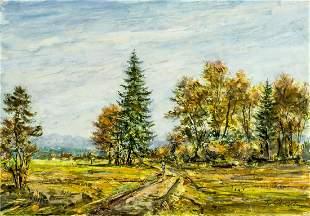 Friedrich Gortitz (Germany,Austria,1890-1973) oil