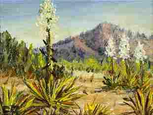Lee W Brace (CA,mid 20C) oil painting