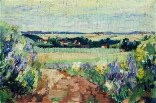 Alfred Pietercelie (Belgium,1879-1955) oil painting