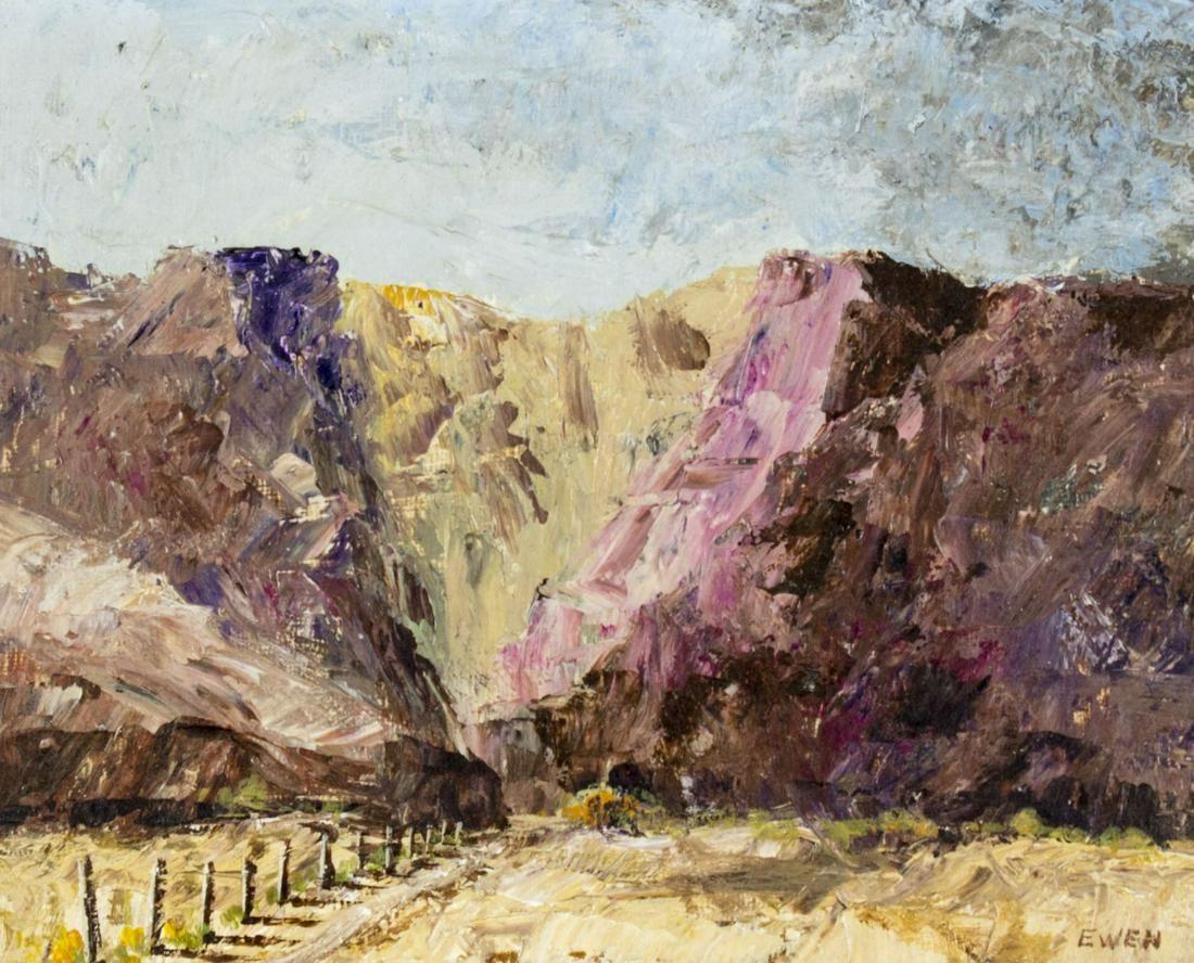 Lewis Edward Ewen (NM,20C) oil painting