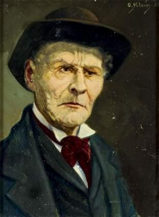 Otto Klein (Swiss,1901-1986) oil painting