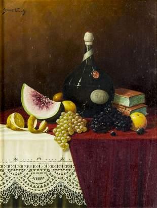 Franz Nowak (Austria,1885-1973) oil painting