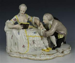 """Nymphenburg figurine """"Courting Couple"""""""