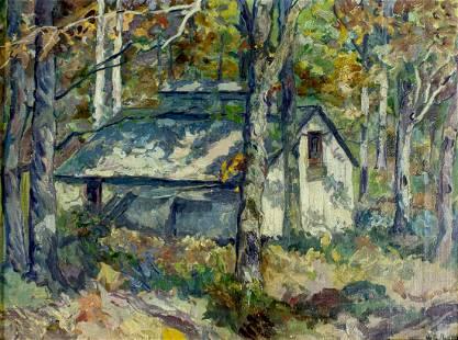 William Reindel (OH,MI,1871-1948) oil painting