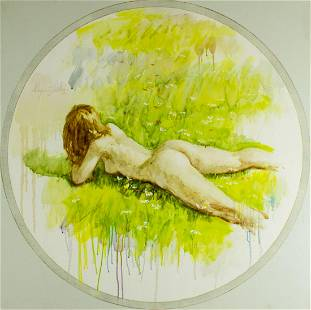 Chapman Kelley (TX,b 1932) oil painting