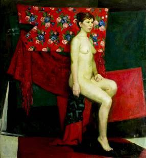 Anna Marinova (Russia, born 1983) oil painting