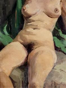 George Kennedy Brandriff (CA,NJ,1890-1936) oil painting