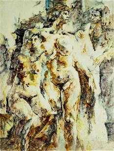 Gerald Bogard (US,20C) oil painting