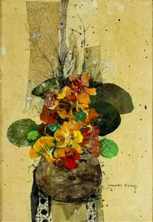 Leonard Brooks (Mexico,Canada,1911-2011) mixed media