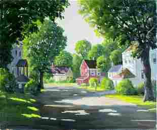 George Holloway (NJ,20C) oil painting