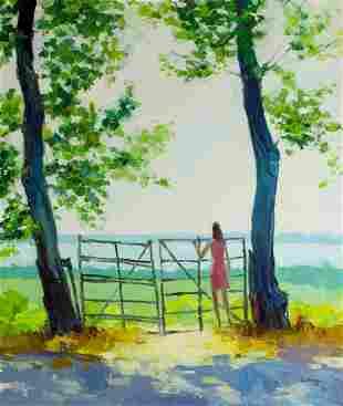 Carl Antonio Longi (Italy,1921-1980) oil painting