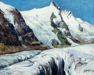 Leopold Scheiring (Austria,1884-1927) oil painting