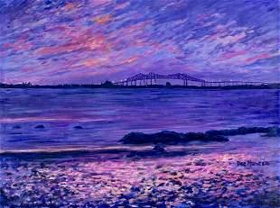 Deanna Hansen (OR,CA,20/21C) oil painting