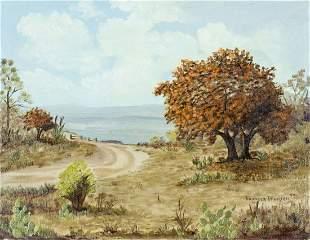 Frances Richter (TX,20C) oil painting