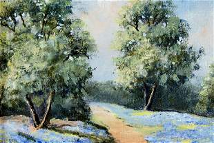 E Dupre (TX,20C) oil painting