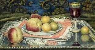 A Untermann (Europe,19C) oil painting antique