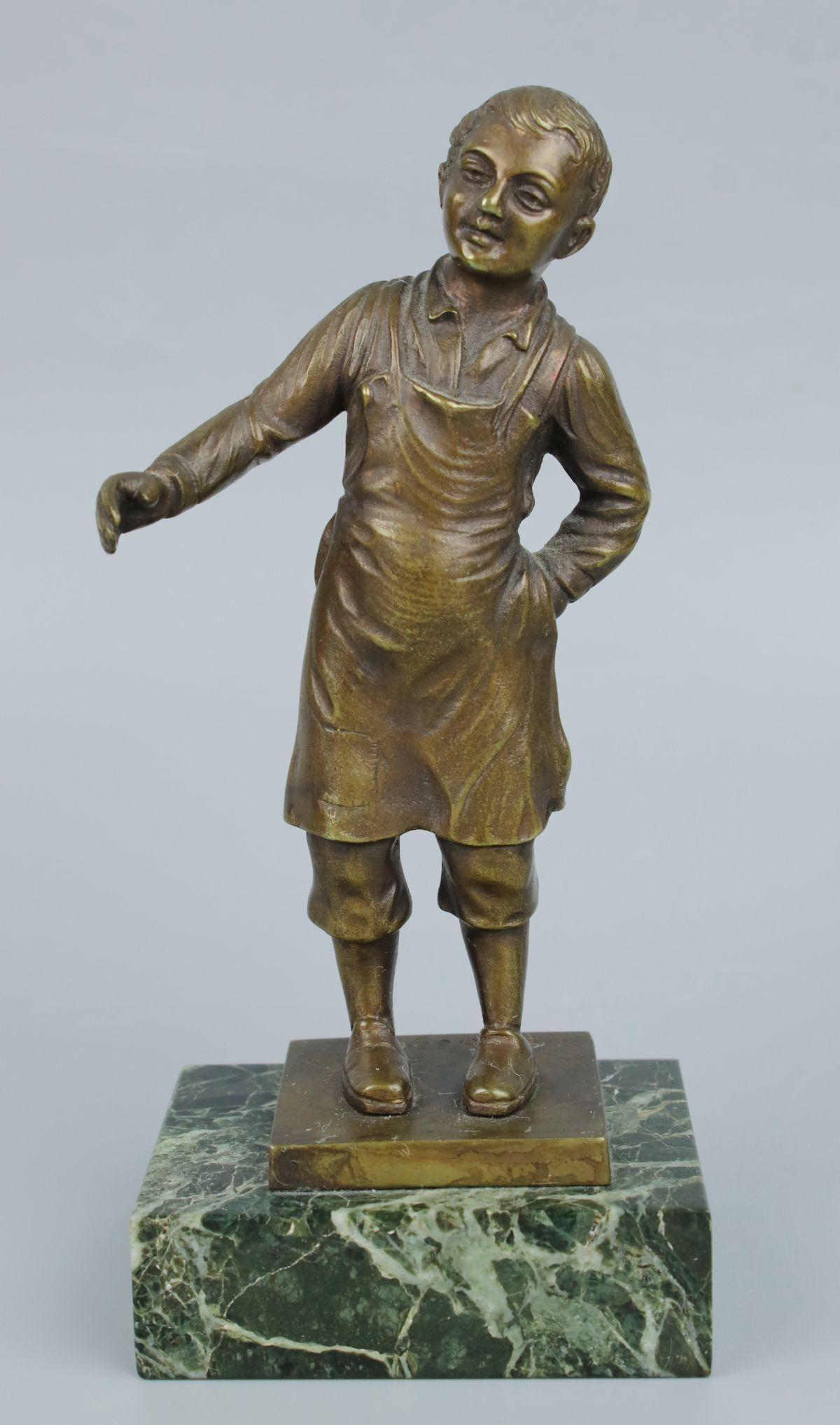 Antique German Bronze Figurine
