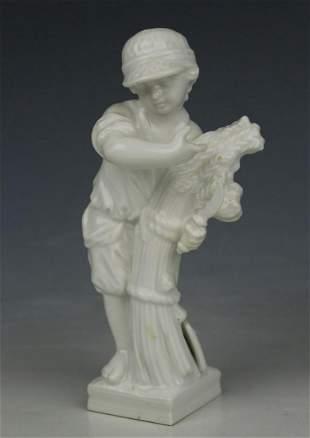 "KPM Berlin Figurine ""August"""