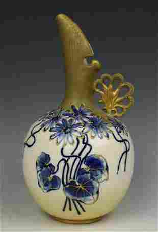 Amphora Turn Teplitz RSTK Ewer Pitcher #153