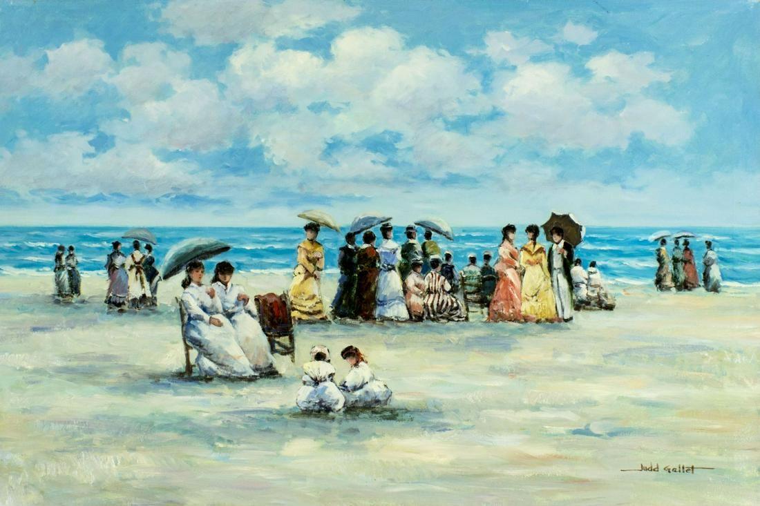 Judd Gallet (US,20C) oil painting