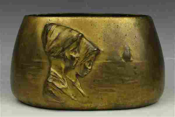 "Ferdinand Doblinger (Austria,1872-1935) Bronze ""Vase"