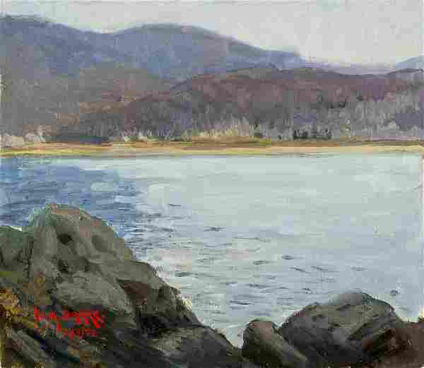 William A Drake (Canada,1891-1979) oil painting