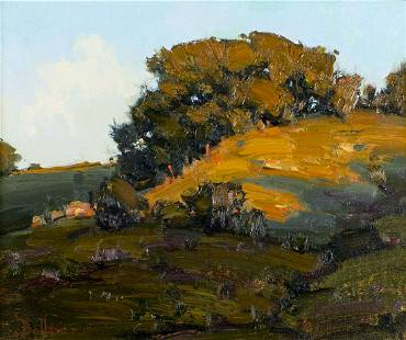 David Ballew (NM,CT,b 1955) oil painting