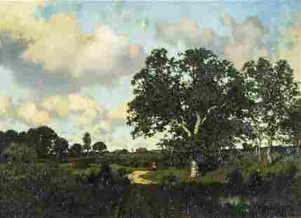 Henry Pember Smith (NY,CT,NJ,1854-1907) oil painting