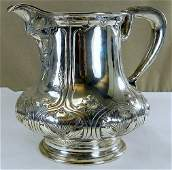 "Gorham Sterling Silver ""Athenic"" Water Pitcher"