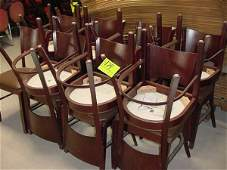 174: WOODEN CHAIRS