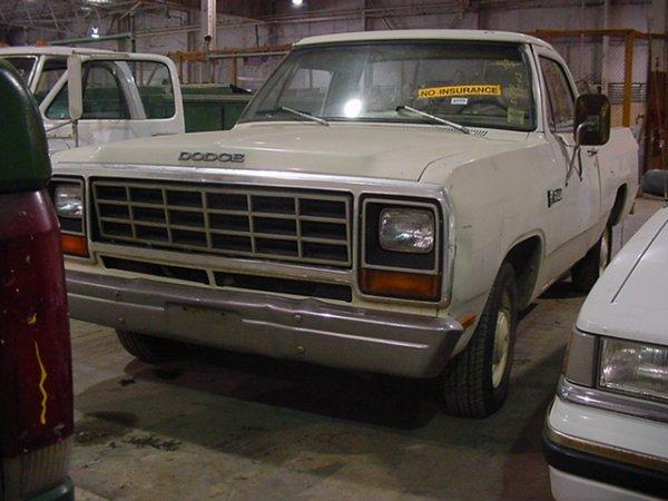 287: 1981 DODGE RAM 150 PICKUP