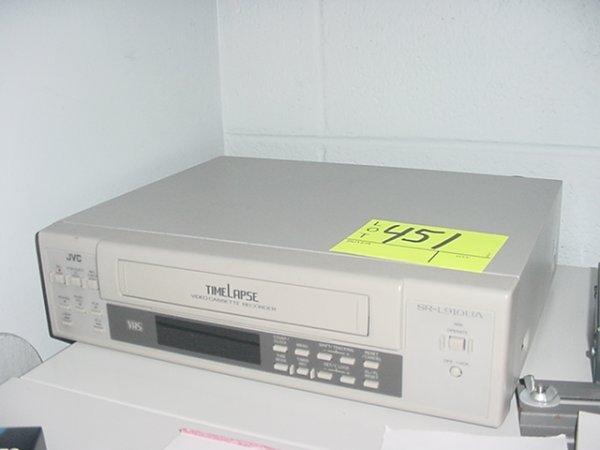 451: JVC TIMELAPSE SR-L9100A VCR
