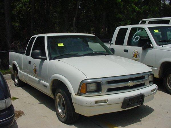 465: 1997 CHEVY S-10 PICKUP