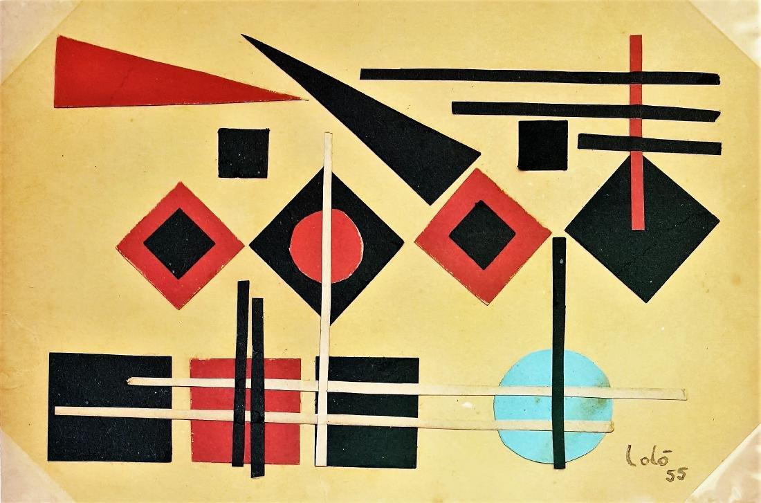 Lolo SOLDEVILLA (1901-1971). Cuban art.