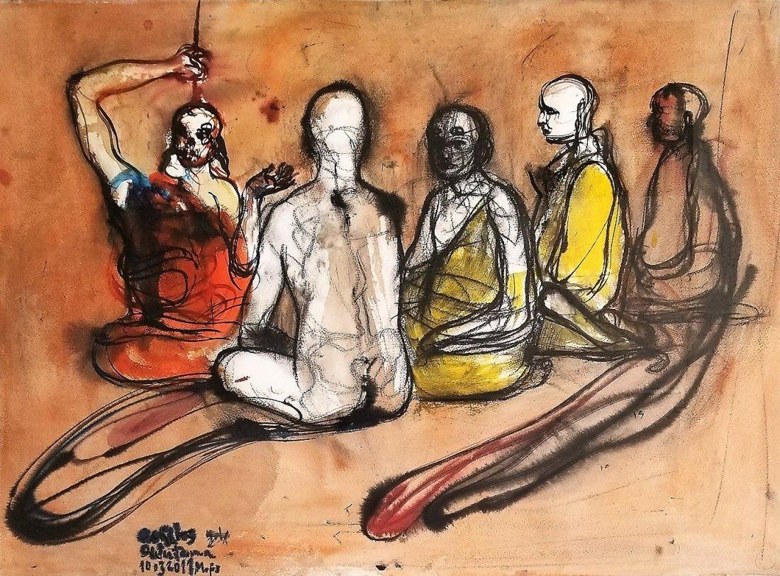 Carlos Quintana. Cuban art.