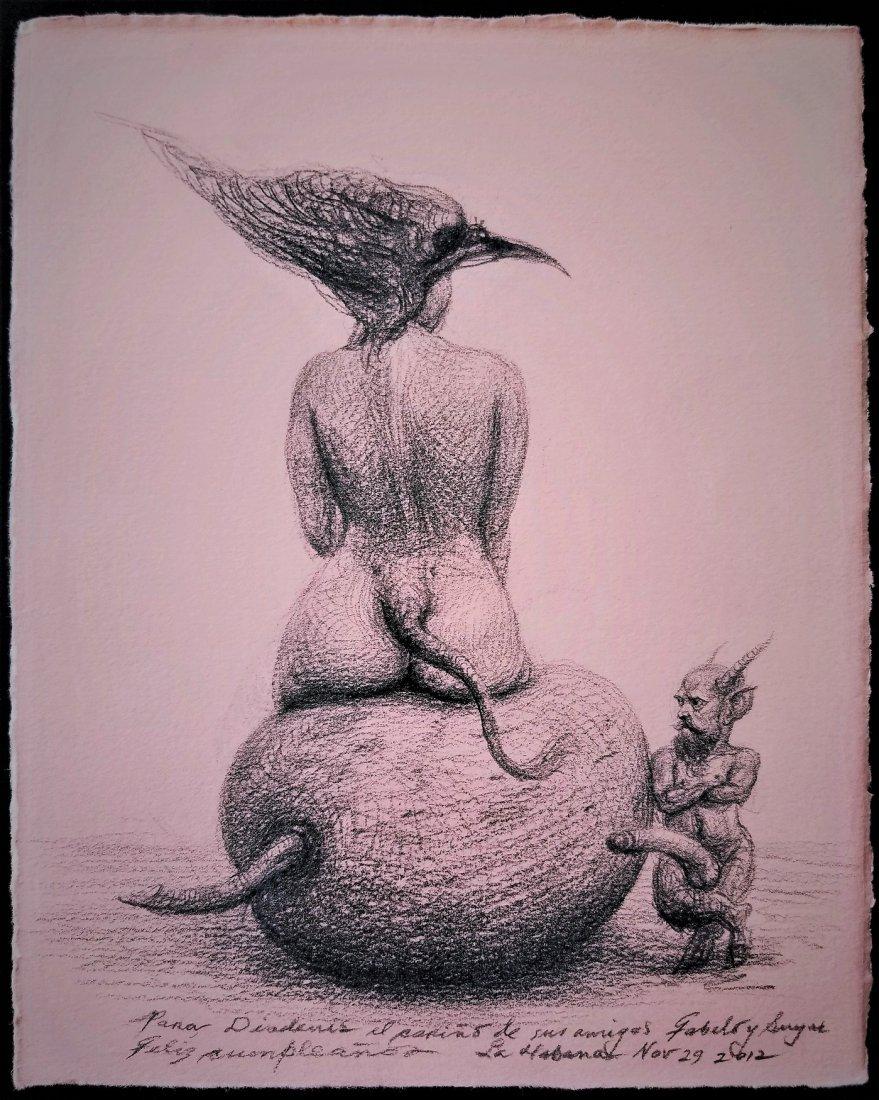 Roberto FABELO (1950). Cuban art.