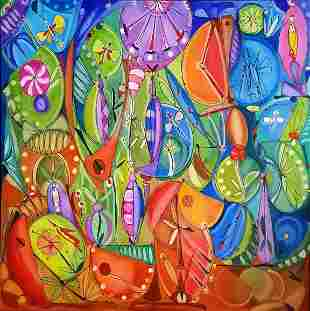 Jardin by Jose Maria MIJARES (1921-2004)