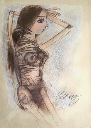 Pedro Pablo OLIVA (1949). Cuban art.