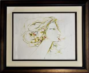 """Juana Ester"" by Servando CABRERA MORENO (1923-1981)"
