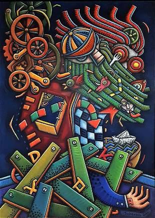 Alfredo Sosabravo (1930). Cuban art.