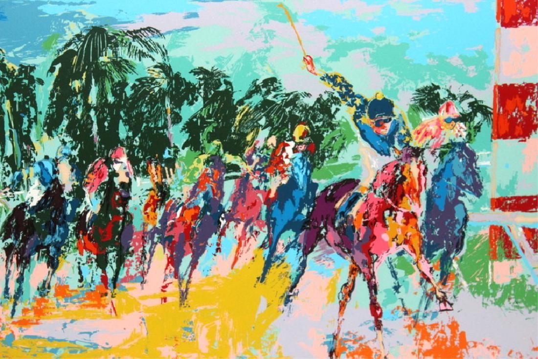 LEROY NEIMAN AMERICAN (1921-2012) COLOR SEIRGRAPH