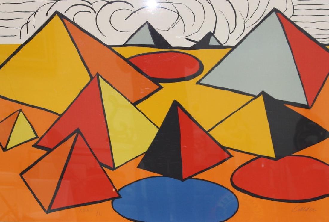 ALEXANDER CALDER (AMERICAN 1898-1976) PYRAMIDS