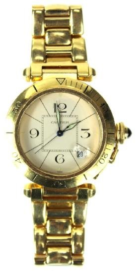 18 Karat Cartier Pasha Watch